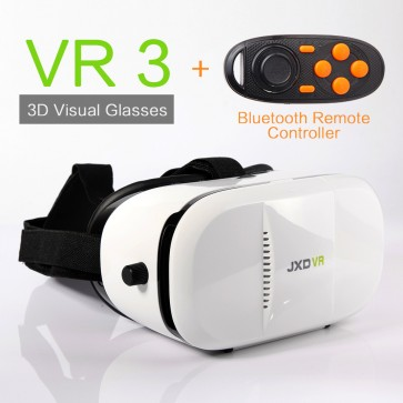 JXD VR3 3d Vr Virtual Reality Headset Compatible for Smartphones 3d Effect Glasses