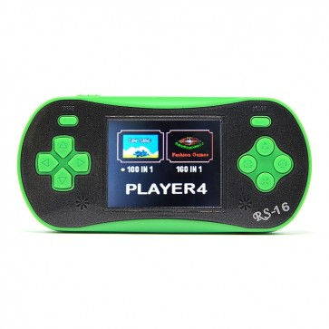 2.5 Inch Retro Game Handheld Player Support 140 Classic Games with AV cable