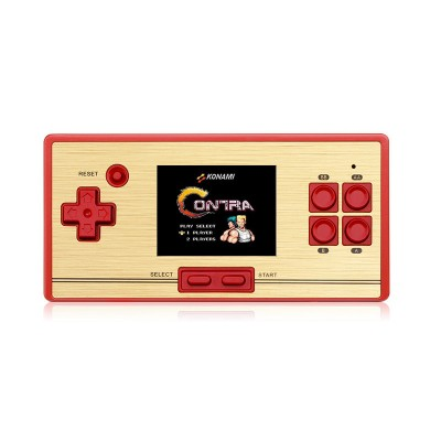 FC Retro Video Game 2.6 Inch Screen Children'S Handheld Game Console Built-in 472 Games with Game Card 128 Games