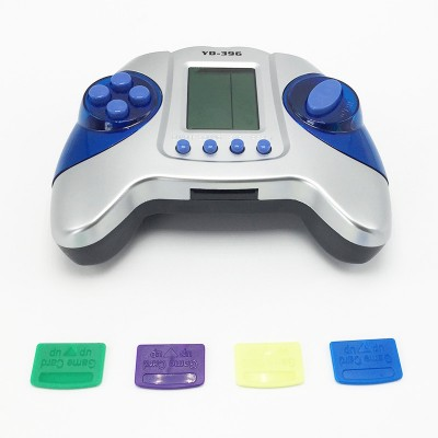 Portable Cool Handheld Kids with Game Card Tetris Console