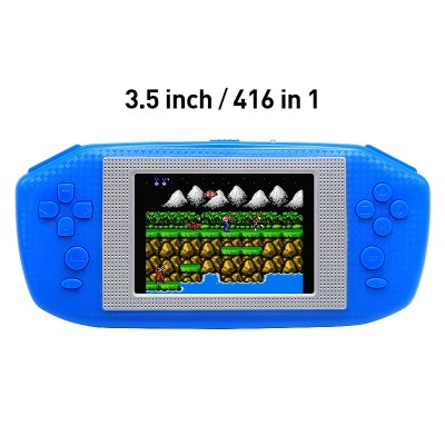 3.5 Inch  LCD Screen Video Game Console Built-in 416 Retro Games Console