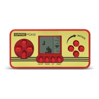 Retro Children Classical Players Portable Tetris Console