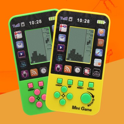 2PCS Retro Tetris Game Console