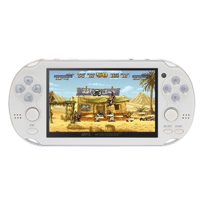 4.3 Inch 8GB Handheld Game Consolebuild in 1200+no-repeat games Video Game Console Support FC/NES,SFC/SNES/GB/GBC/GBA/SMC/SMD/SEGA Games MP3 MP5 Player