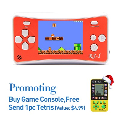 2.5 Inch Retro Game Handheld Player Bulit-in 89 Kids Games Console
