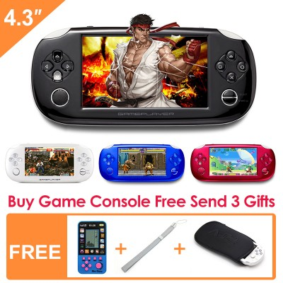 4.3 Inch Mp4 Player Video Game Console Free Games Support Ebook Camera Recording Gaming Consoles