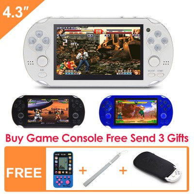 8G Handheld Game Console 4.3 Inch 32Bit Mp4 Player Video Game Console Retro Gaming Consoles