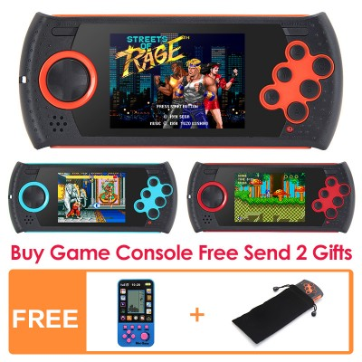 3.0 Inch Retro Game Handheld Player for Sega Game Console Built-in 100 SEGA Games 16 Bit Video Game Console MP3 MP4 Console