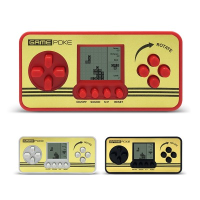 2pcs Retro Children Classical Players Portable Tetris Console