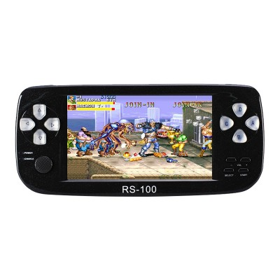 4.3 inch screen 64 Bit Handheld Video Game Console build in 1300 no-repeat game for NEOGEO\CPS\GBA\GBC\GB\SFC\FC\MD\GG\SMS MP3/4