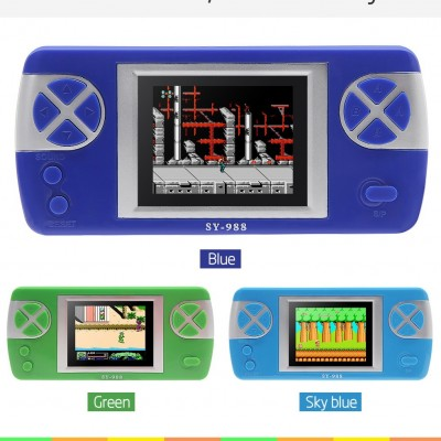 2.6 Inch New Video Game ConsoleInch Retro Game Handheld Player Built In 260 Classic Games for  NES/FC Portable Game Console