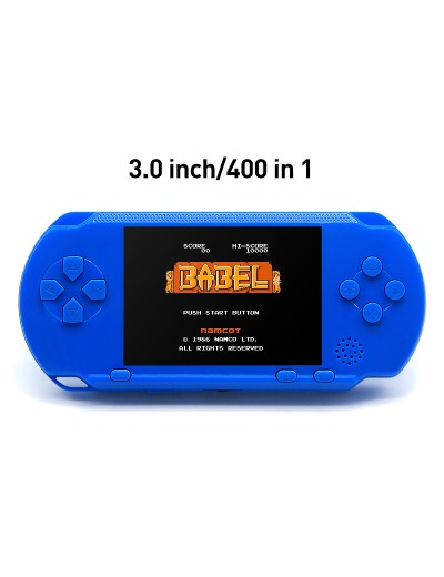 3.0 Inch LCD Screen Built-in 400 Retro Games Console Support Rechargable Li-polymer Battery Video Game Console