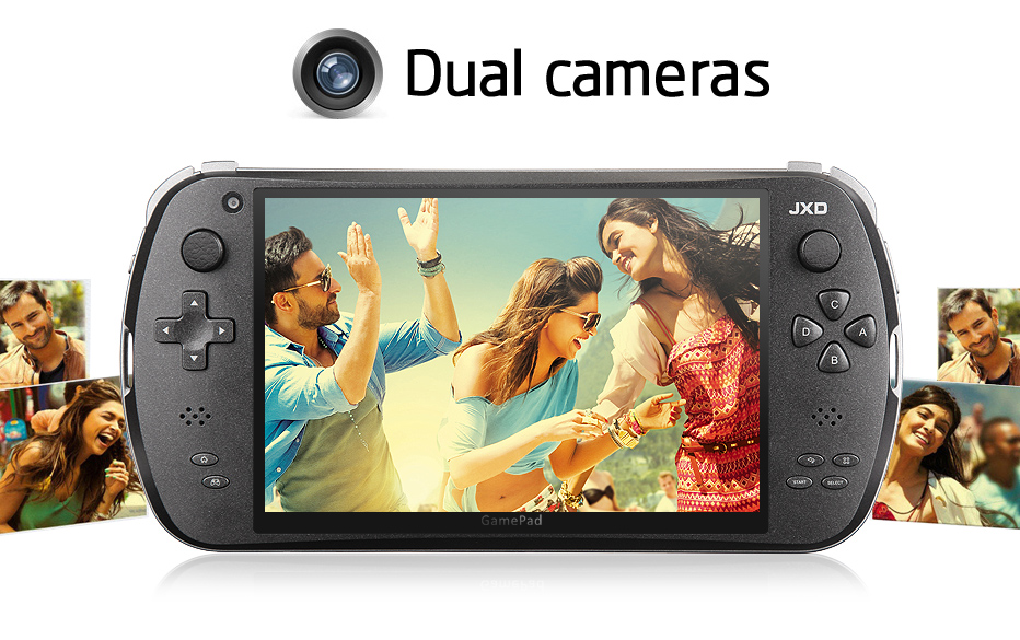 JXD S7800B - 7 Inch Quad Core Game Console