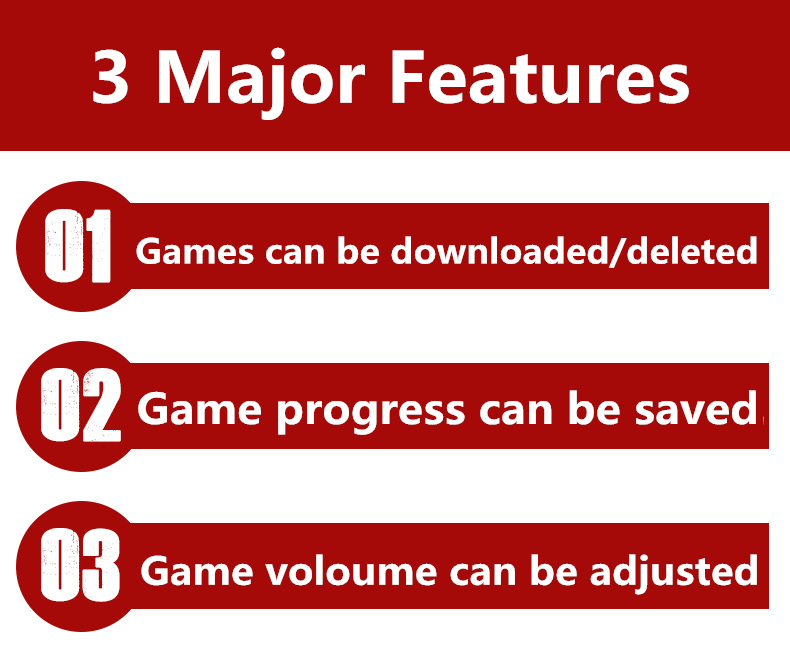 Double rocker 4 3 Inch 8GB Handheld Game Console build in 1200+no-repeat  games Video Game Console Support Arcade